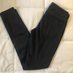 Articles of Society Charcoal wash skinny jeans